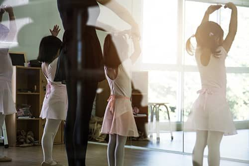 Classical ballet lessons