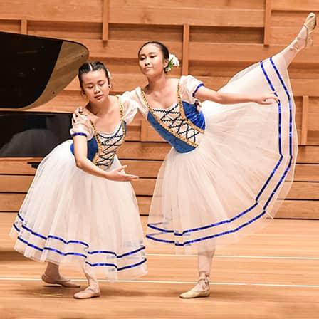 Ballet School Duo Performance