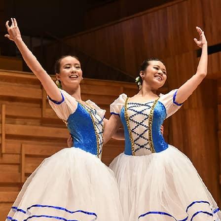 Ballet Studio Duo Performance