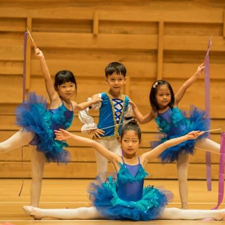 Ballet Academy Children Performance