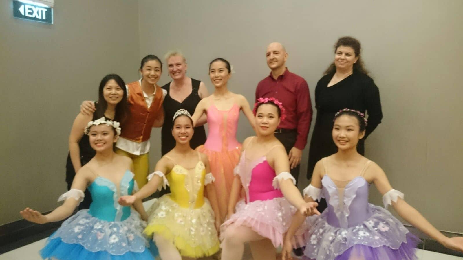 ballet scholarship recipients
