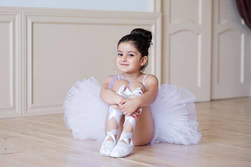 Pre Ballet Class Girl
