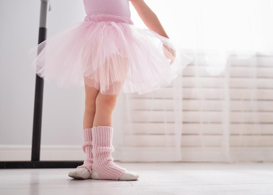 toddler ballet posture